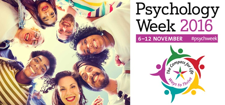 Psychology Week 2016 Compass for Life – Ways to Thrive